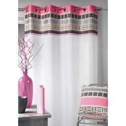 rideau voilage contemporain avec t te de rideaux design. Black Bedroom Furniture Sets. Home Design Ideas