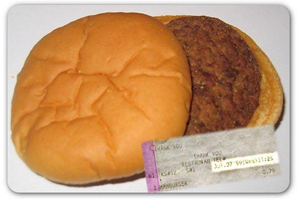 McDonald's 14-year-old burger...no signs of aging.