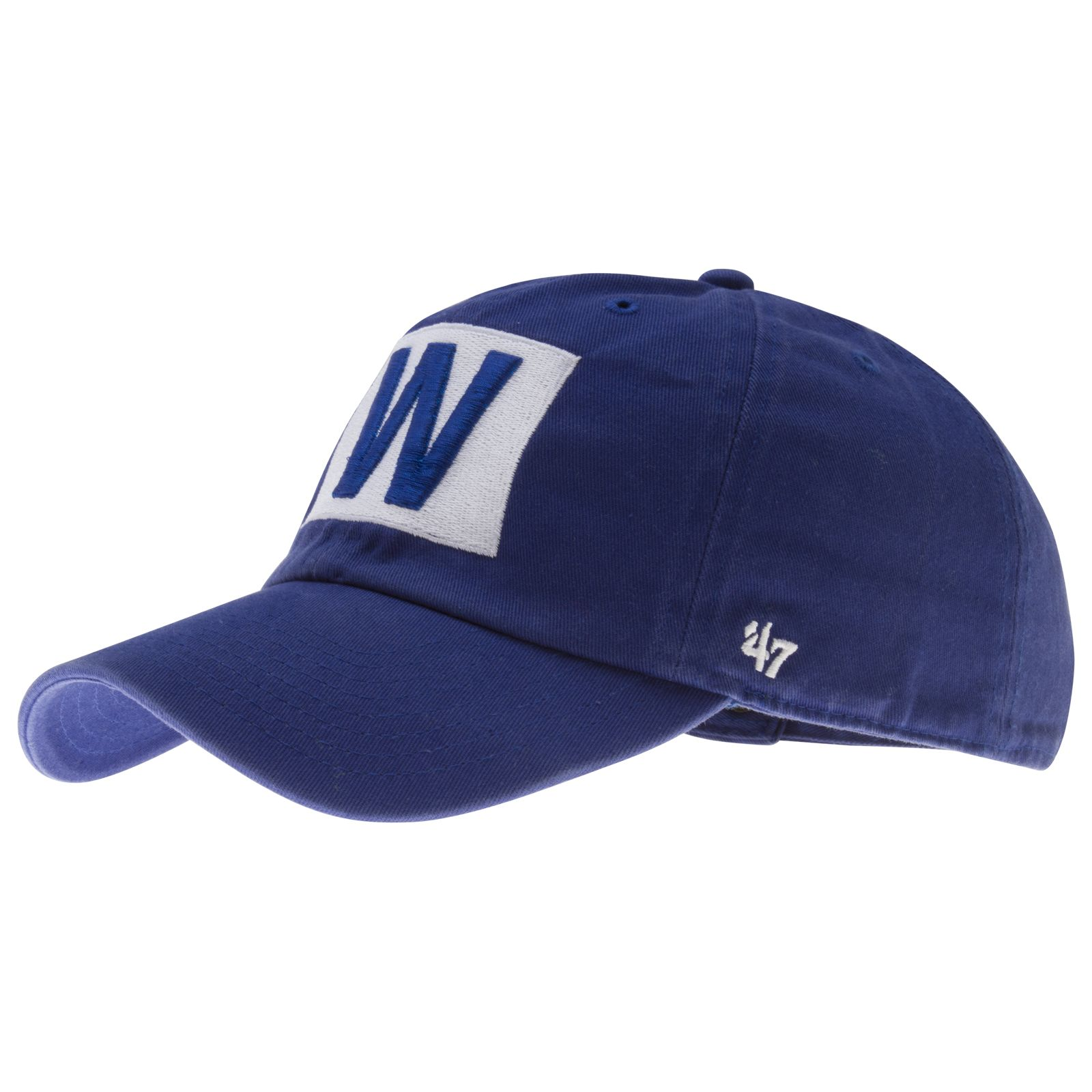 Chciago Cubs Royal Blue W Flag Slouch Crown Clean-Up Adjustable Hat by  47   Chicago  Cubs  ChicagoCubs ae43dd4e788