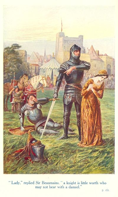 Sir Gareth and the Red Knight