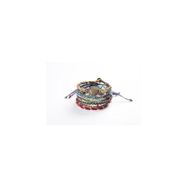 7 Strand Bracelet via Polyvore