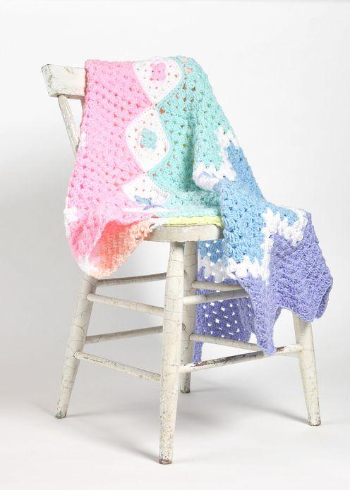 KRW Knitwear Studio--Karen Ratto-Whooley--Granny Ripple Baby Afghan ...