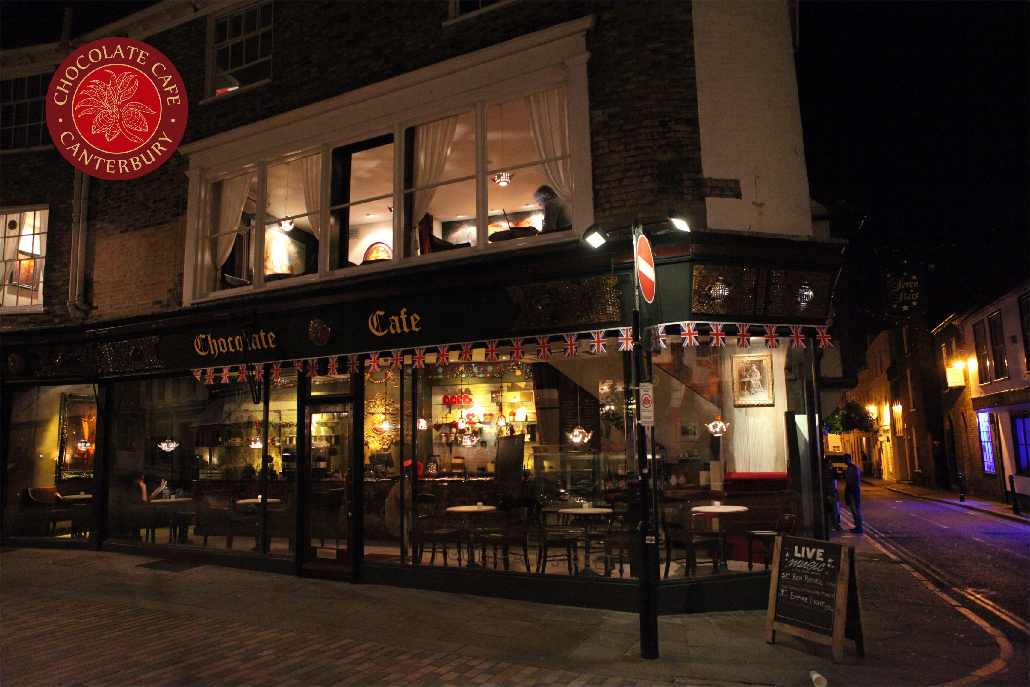 Chocolate Cafe Canterbury Is Magical From The Outside