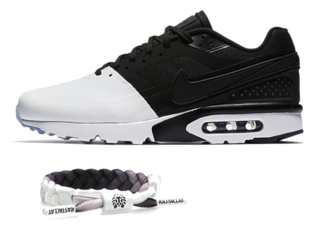 #CLATSANDKICKS | The Chief Miniclat bracelet X Nike Air Max BW Ultra White  Black by