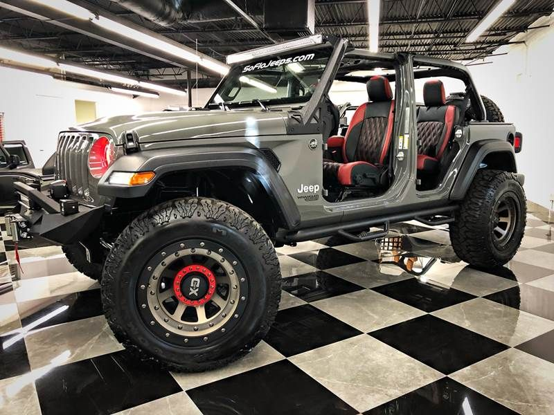 2019 Jeep Wrangler Unlimited Brand New Custom Lifted Sting Grey