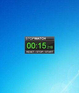 StopWatch Timer - Windows 7 Desktop Gadget | Clock Gadgets