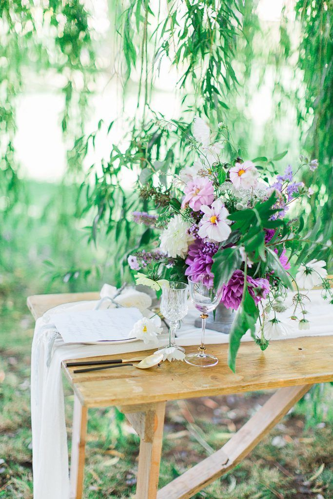 Beautiful British Floral Inspiration | Table setting inspiration ...