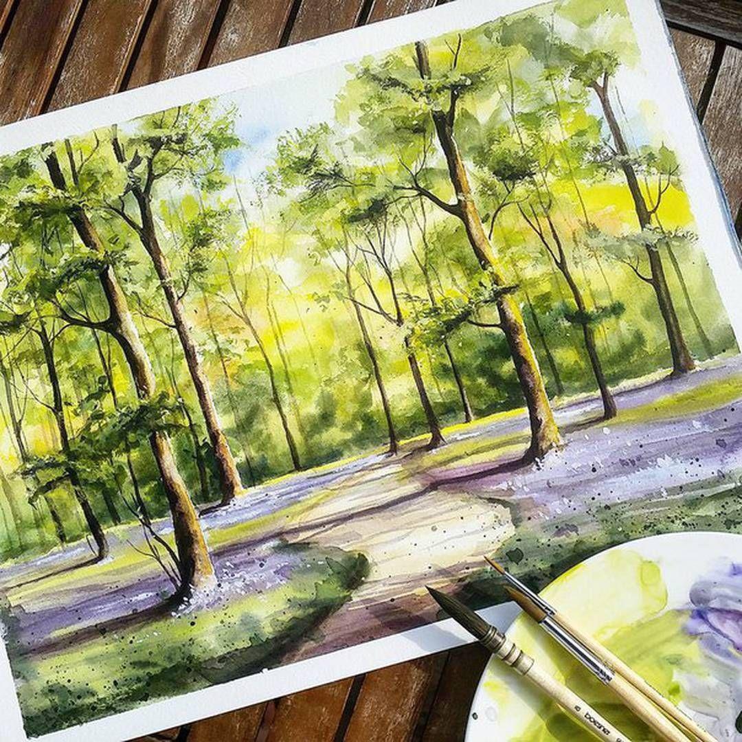 Watercolorist Rabi Rabi Waterblog Color Akvarel Art