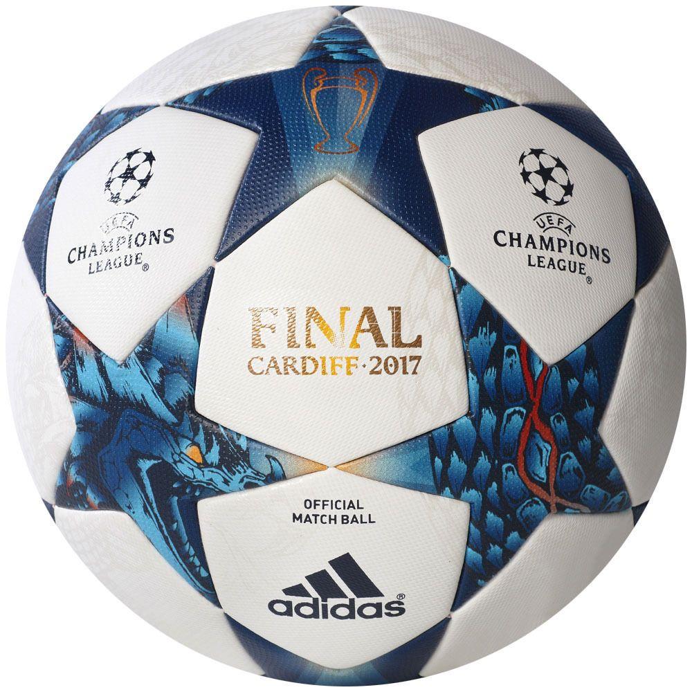 Prescripción yo mismo Descompostura  AUTHENTIC ADIDAS MATCH BALL CARDIFF Finale 17 UEFA CHAMPIONS LEAGUE 2017 |  Balones, Liga de campeones, Balones adidas