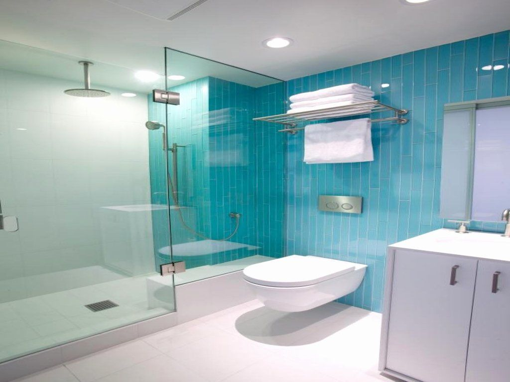Turquoise and Brown Bathroom Ideas Best Of Blue and White ...