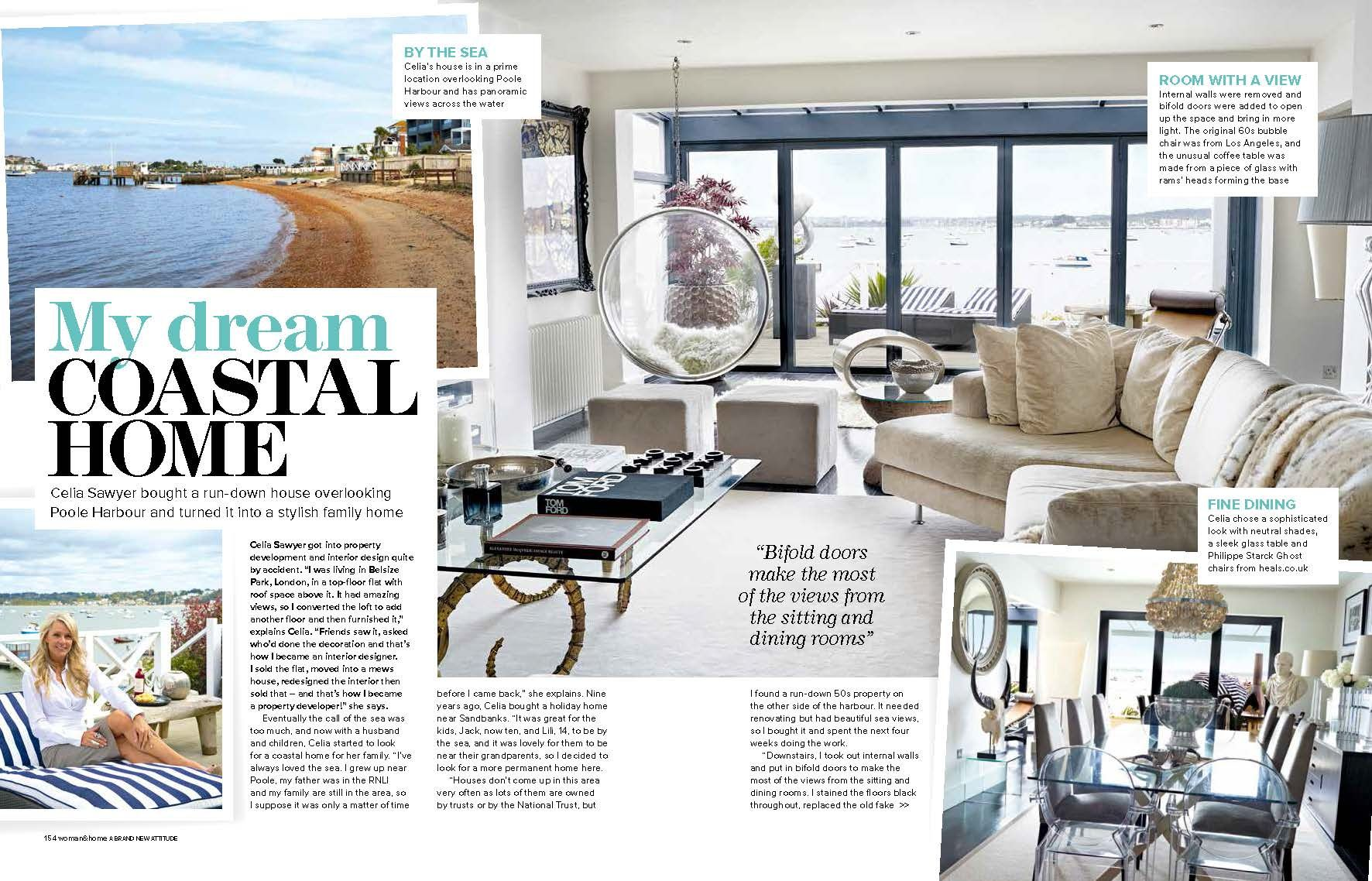 Celia Sawyer Featured Woman Home August 2014