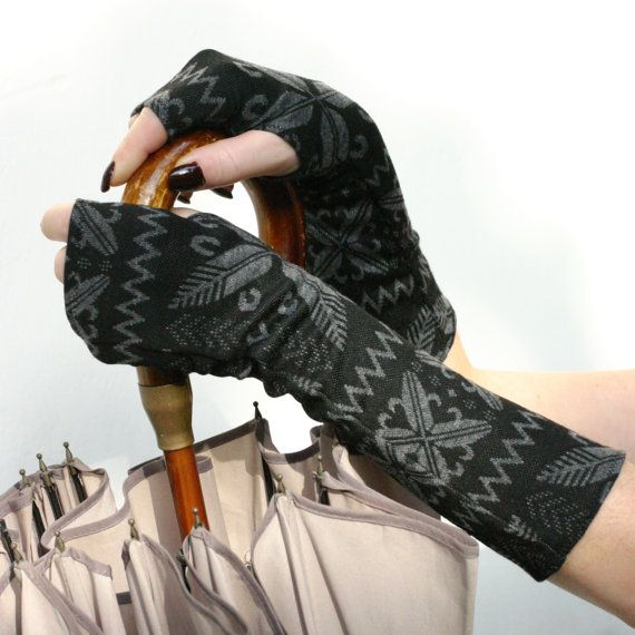 Winter Warm Arm Warmers ,  fingerless gloves , mittens  - wrist warmers , cuffs , Limited Edition