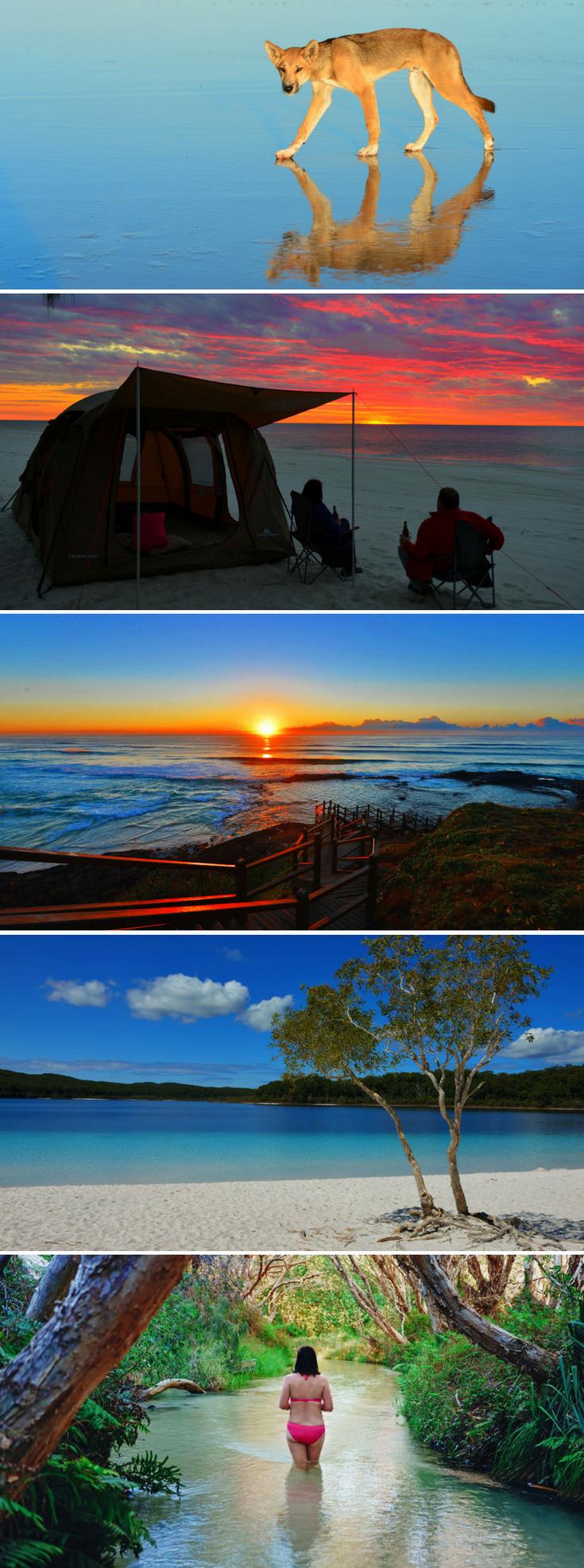 Fraser Island Camping Tips Fraser island australia