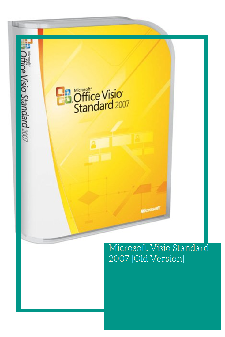 Microsoft Visio Standard 2007  Old Version   Software