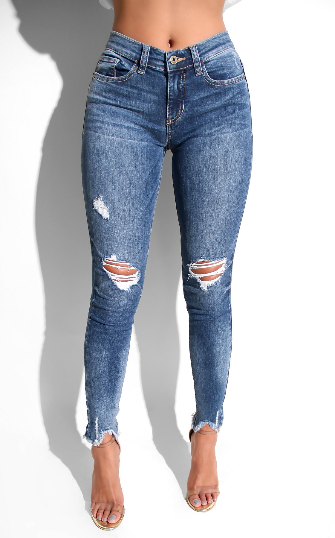 bd061da91 For the Love of Skinny Ripped Jeans