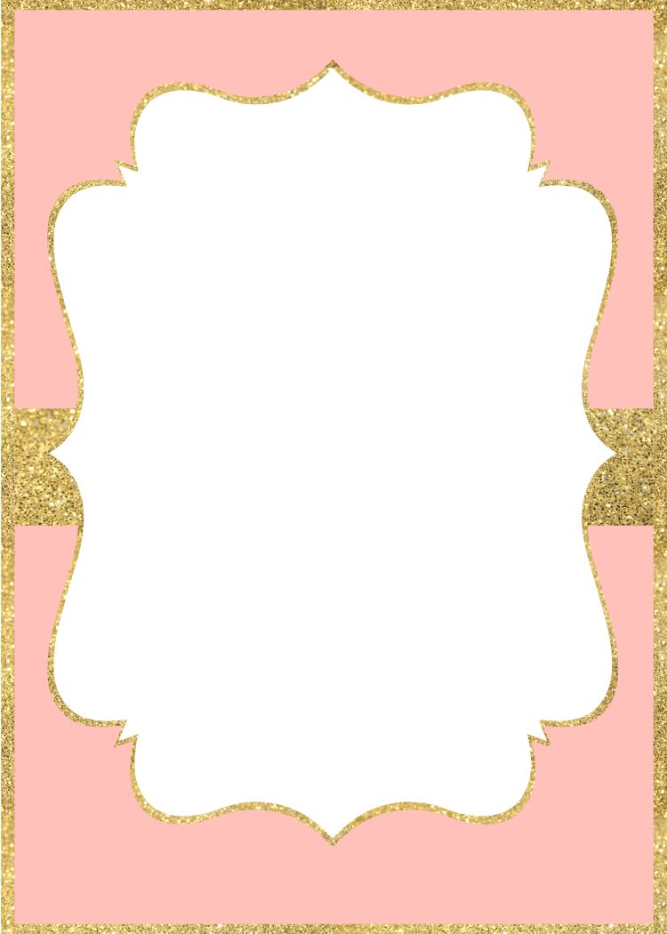 pink and gold invitations templates koni polycode co