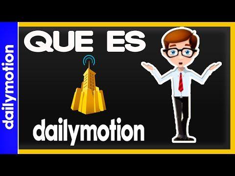 ¿Que es Dailymotion ? | DanyDanielRT - YouTube