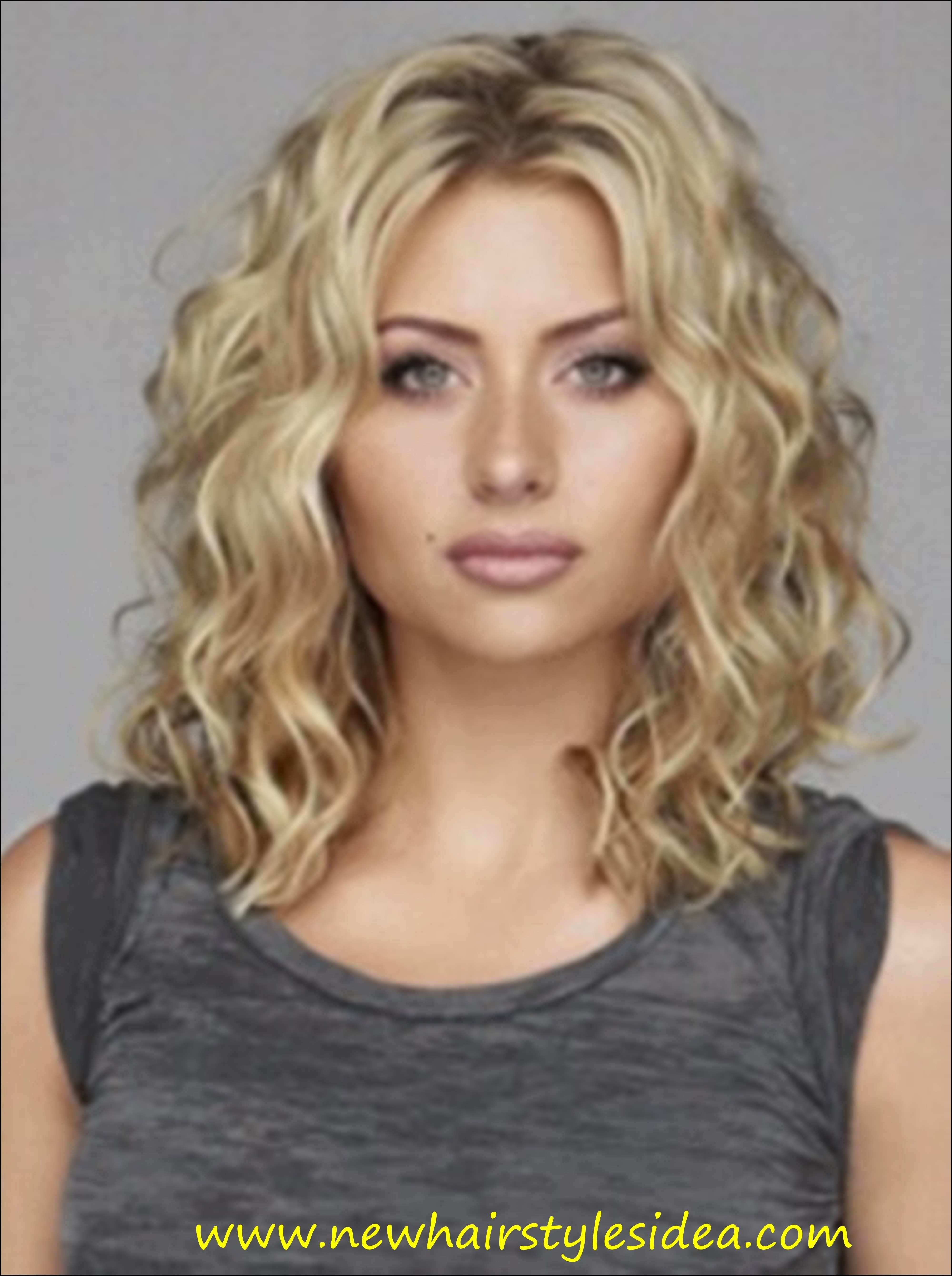 Loose Curl Hairstyles For Medium Hair Lovely Loose Curls Hairstyles For Medium Length Hair Hairstyles Medium Curly Hair Styles Hair Styles Curly Hair Styles
