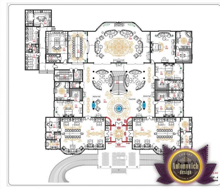 Luxury House Plans In Uae By Antonovich Designs Luxury House Plans House Plans Luxury Floor Plans