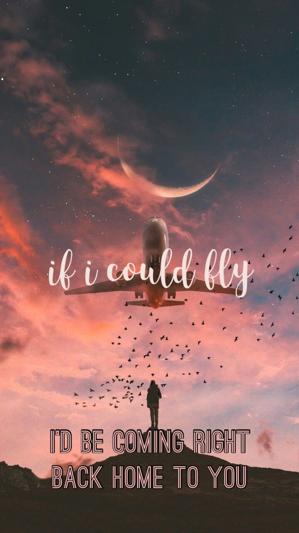 If I Could Fly One Direction Wallpaper En 2019 Canciones