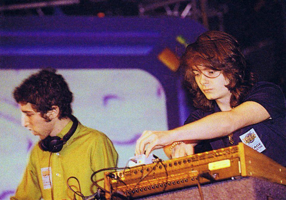 Guy-Manuel de Homem-Christo & Thomas Bangalter.Otherwise known as Daft Punk.