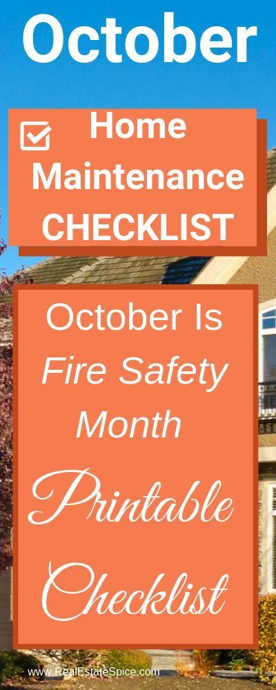Photo of Oktober Checkliste für Wartung und Sicherheit zu Hause. Kenne diese