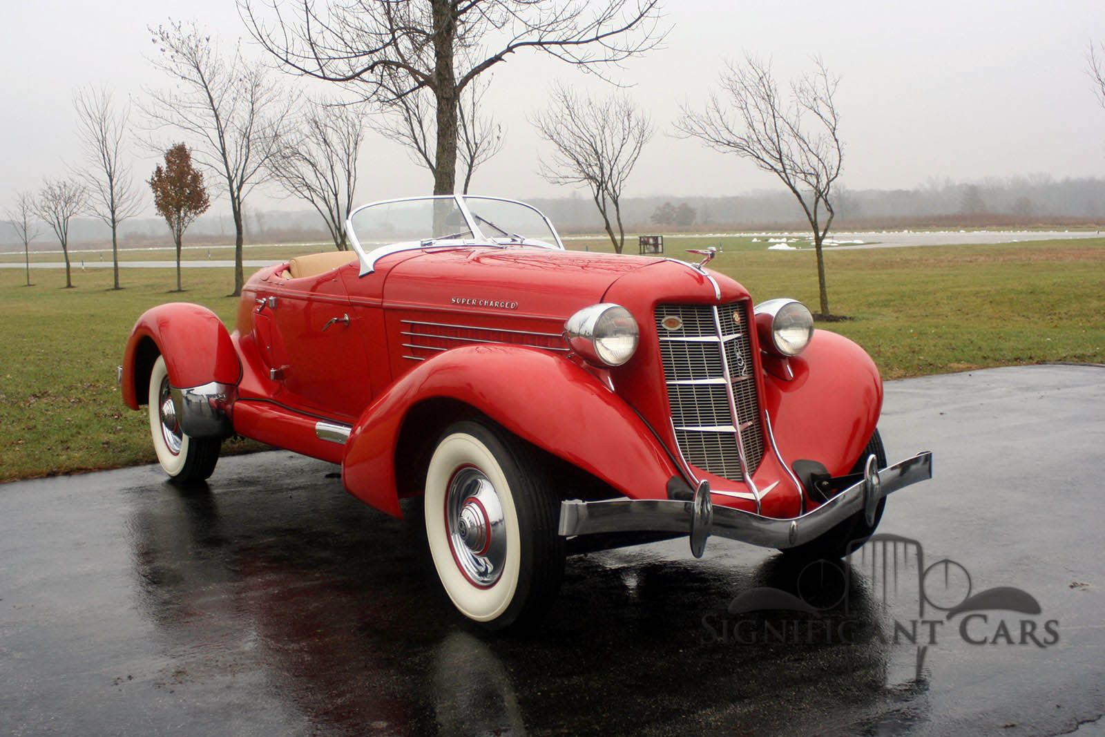 1936 Auburn Boattail Speedster Significant Cars, Inc