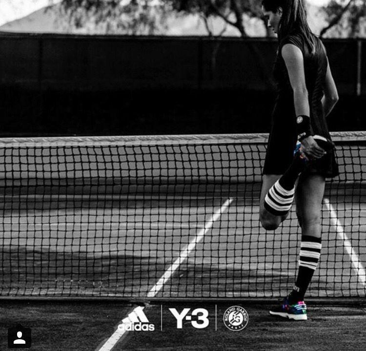 Knee Socks On The Tennis Court Y 3 Tennis Court Tennis
