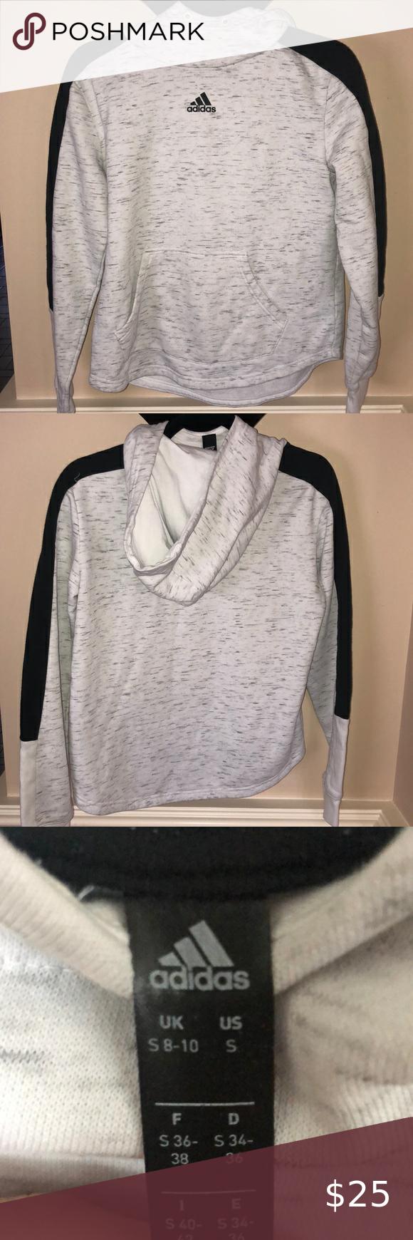 Adidas Color Block Hoodie Sweatshirt Size Small Sweatshirts Hoodie Comfy Hoodies Adidas Hoodie [ 1740 x 580 Pixel ]