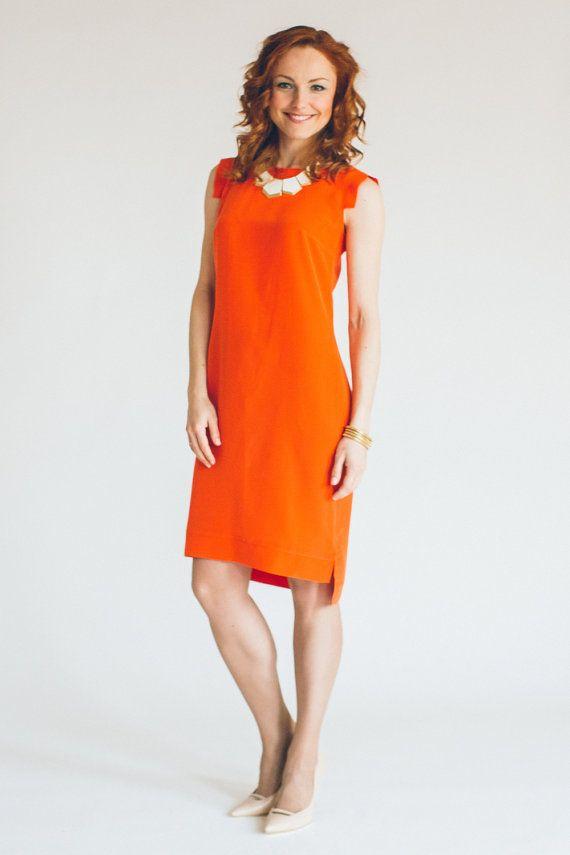 Shift Dress Pattern - Sewing Pattern   Nähen - Sewing   Pinterest ...