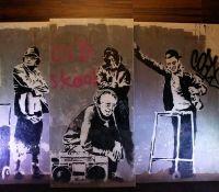 grafiti Bansky