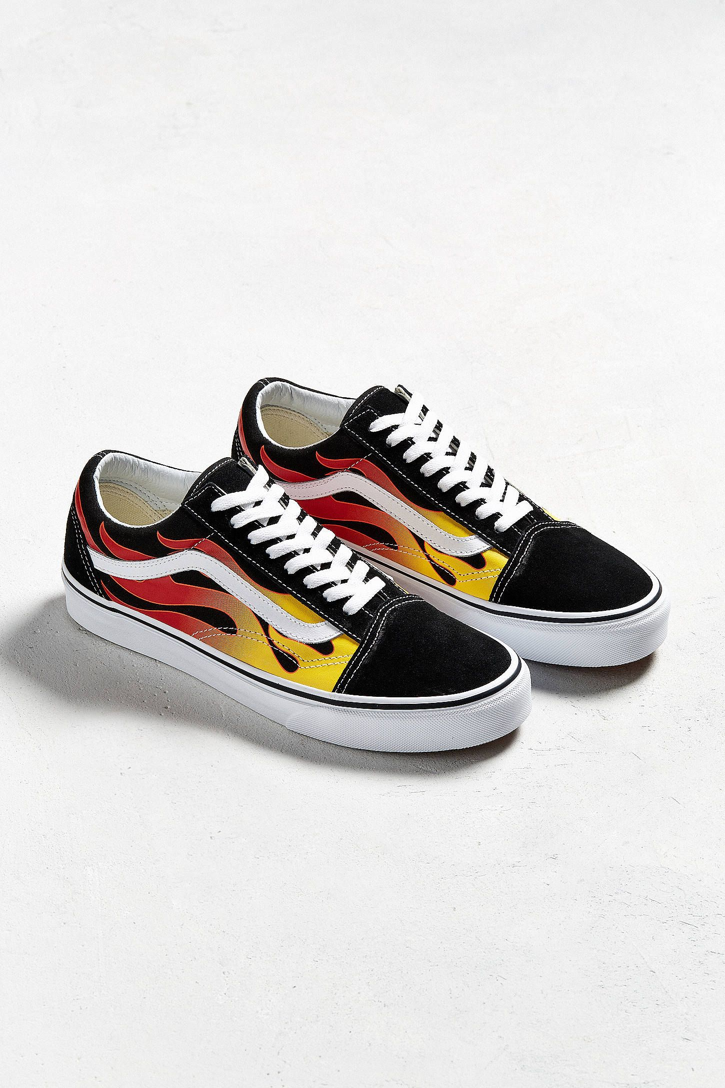 0797f162b99 Vans Old Skool Flames Sneaker