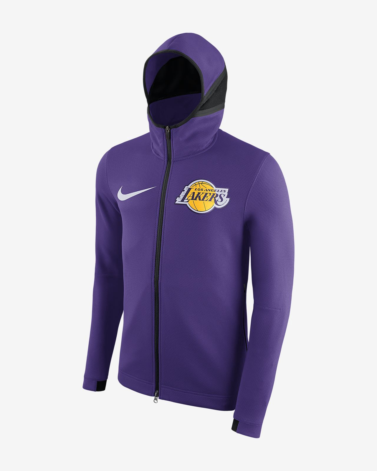 74974b560 Nike Los Angeles Lakers Therma Flex Showtime Men s Nba Hoodie - 2XL ...