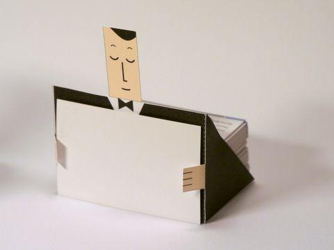 Business Card Holding Butler Digitprop Paper Design Diy Business Cards Paper Crafts Paper Design