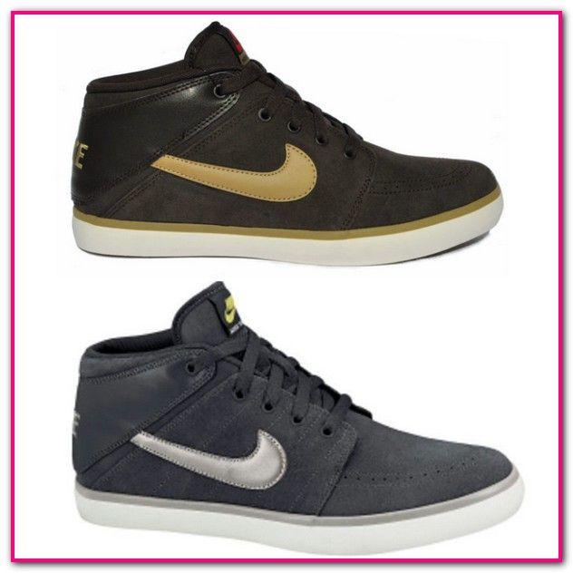 ee3402b7065f6f Nike Schuhe Herren Schwarz Leder