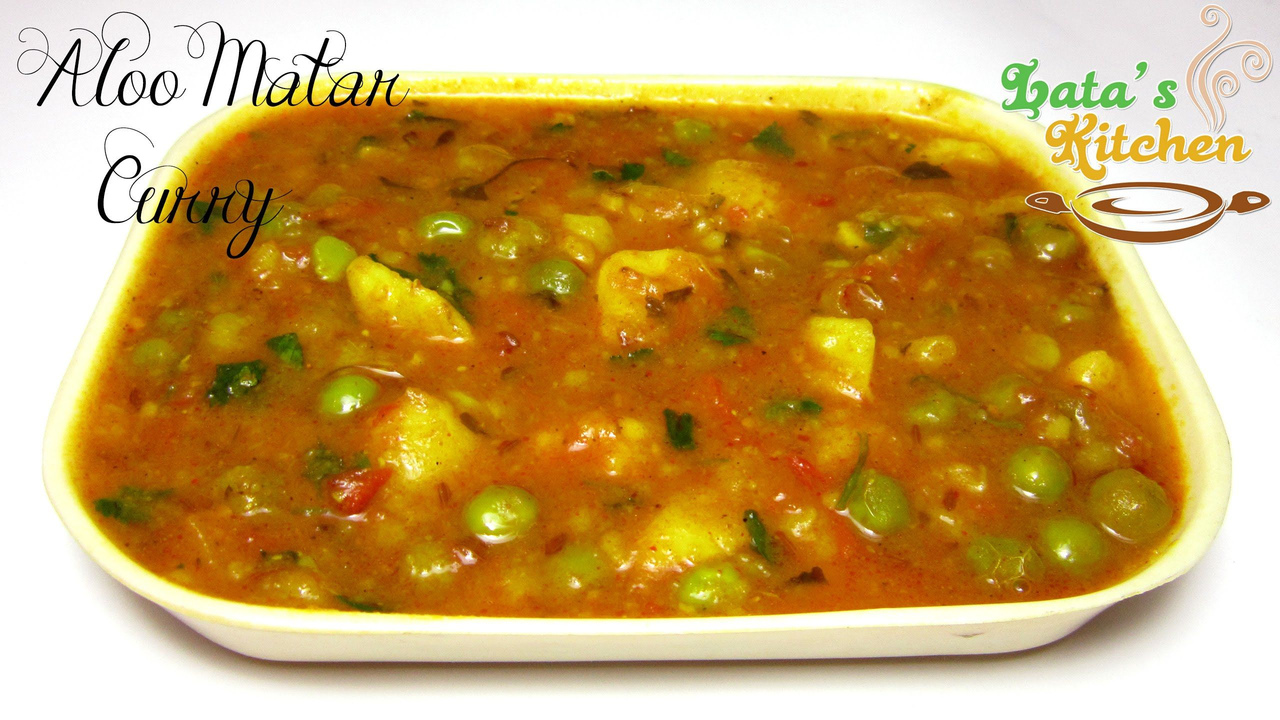 Aloo matar curry indian vegetarian recipe video in hindi with aloo matar curry indian vegetarian recipe video in hindi with english subtitles forumfinder Images