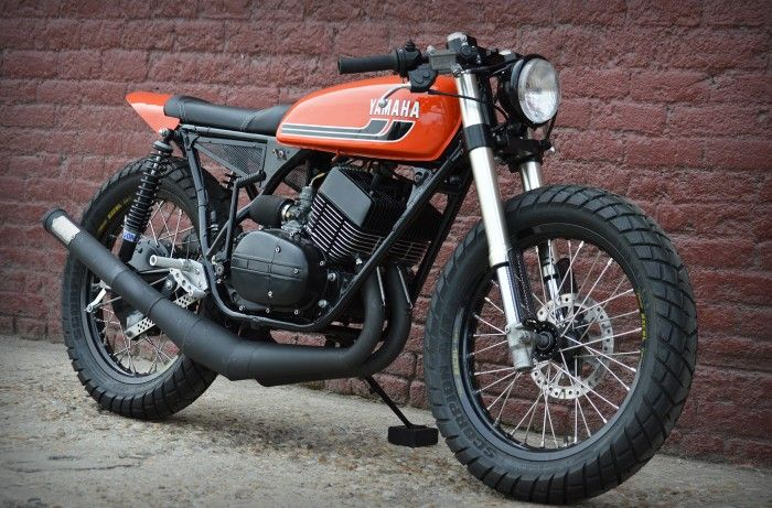 1975 Yamaha RD350 - Justin - The Bike Shed | WIND-BLOWN COM
