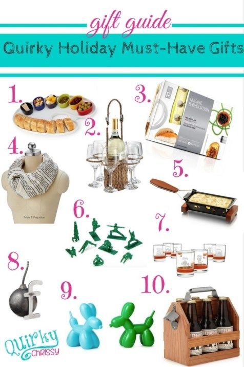 Quirky Holiday Gift Guide Quirky Gifts Christmas Gift Guide Gift Guide