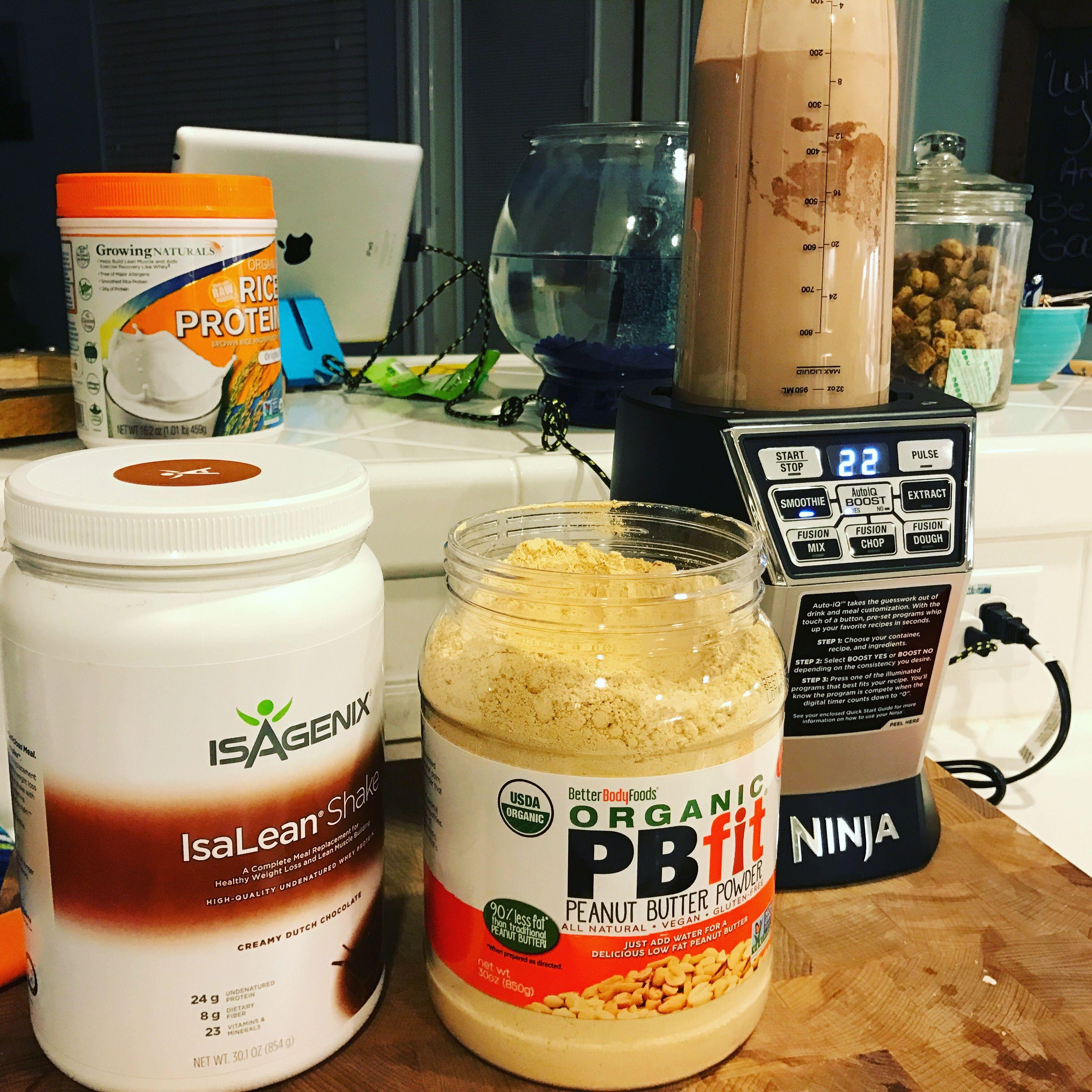 Isagenix isalean pb fit protein shakesmoothie healthy