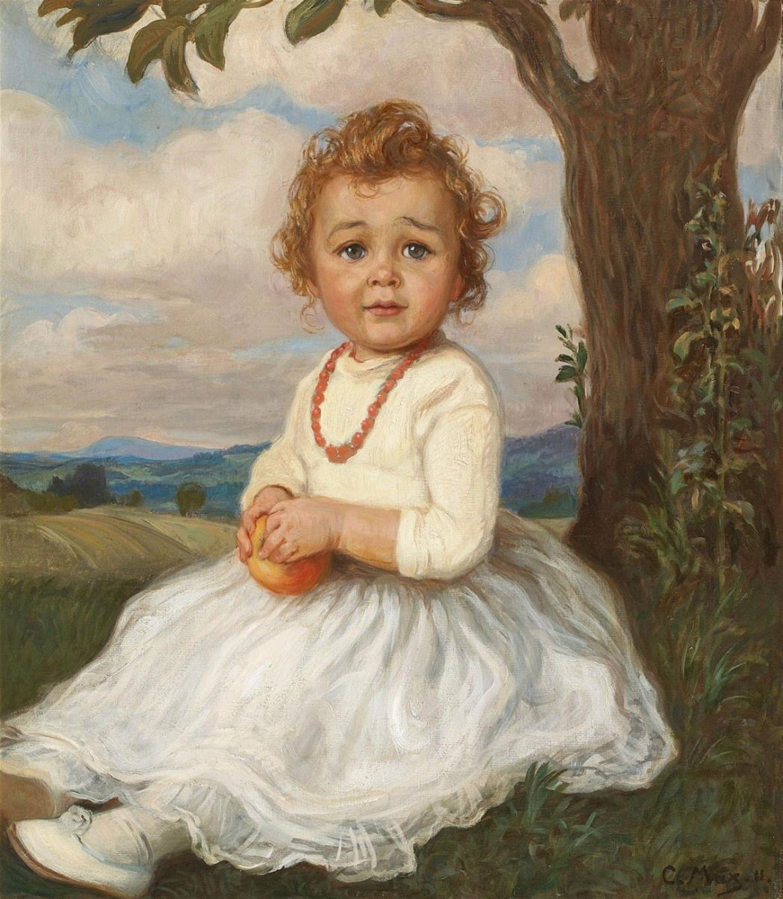 Картинка портрет девочка