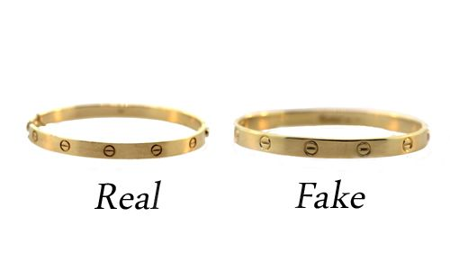 How To Tell The Difference Between Real And Fake Cartier Love Bracelets