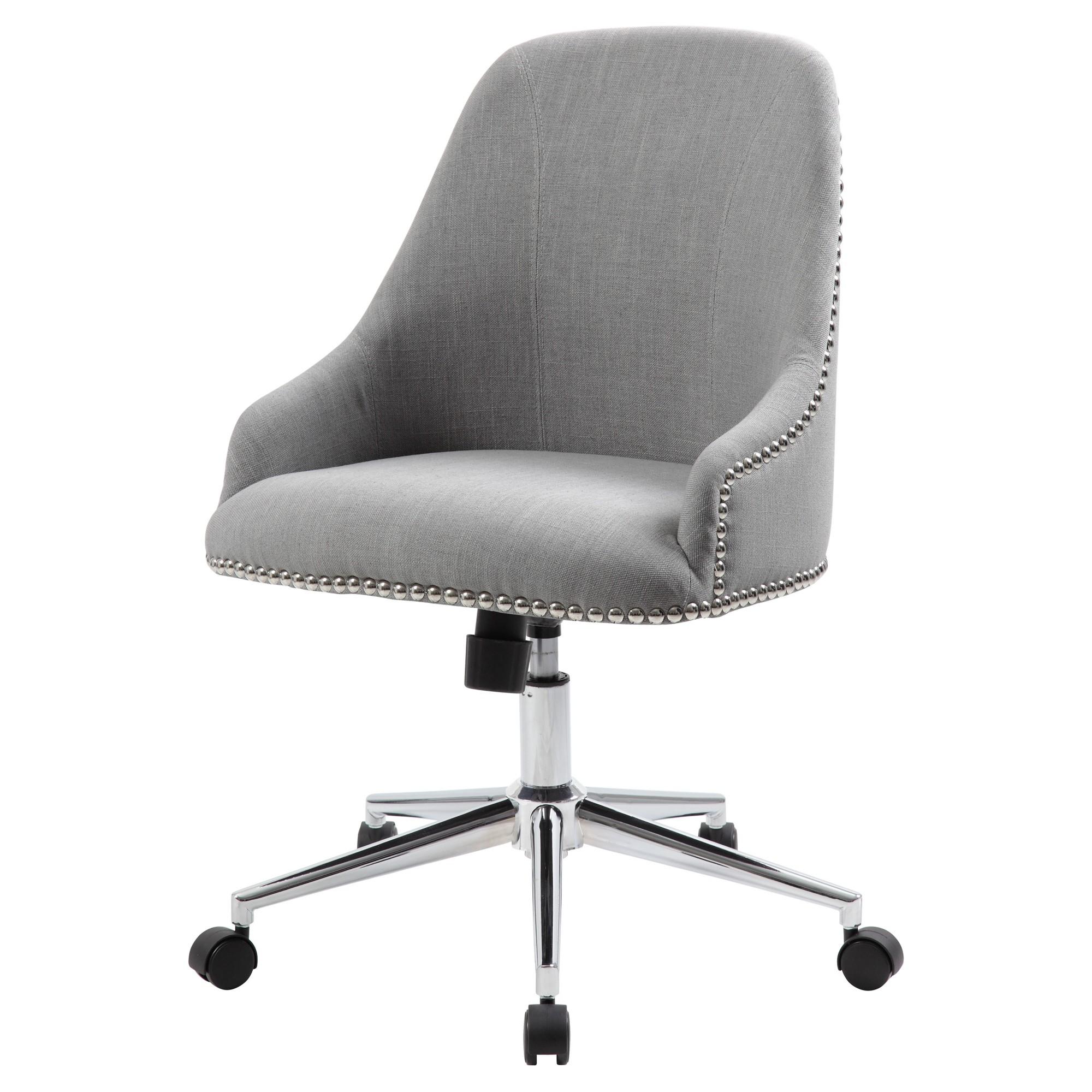 Carnegie Desk Chair Gray Boss Desk Chair Office Chair Boss Office