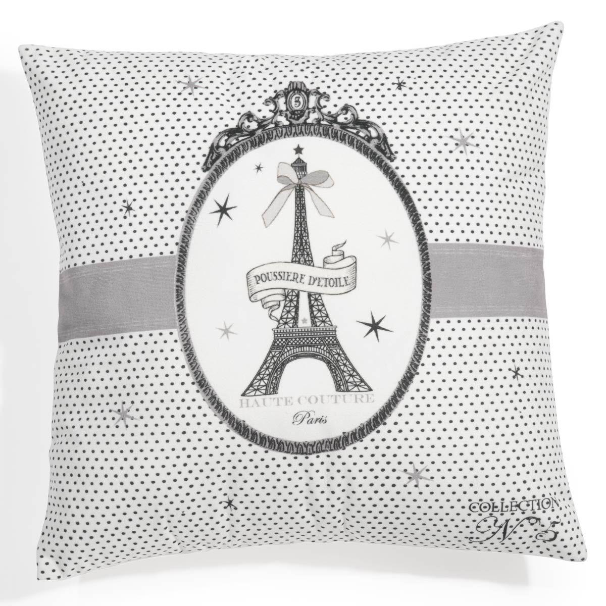 Coussin Paris Médaillon Tour Eiffel Decoration Appart - Eiffel chambre de la tour des idees de decoration
