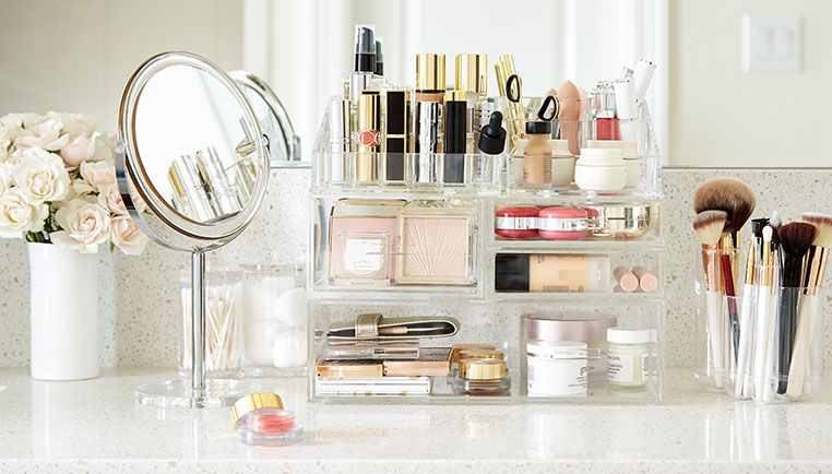 How To Organize Your Makeup - Step-By-Step Project images