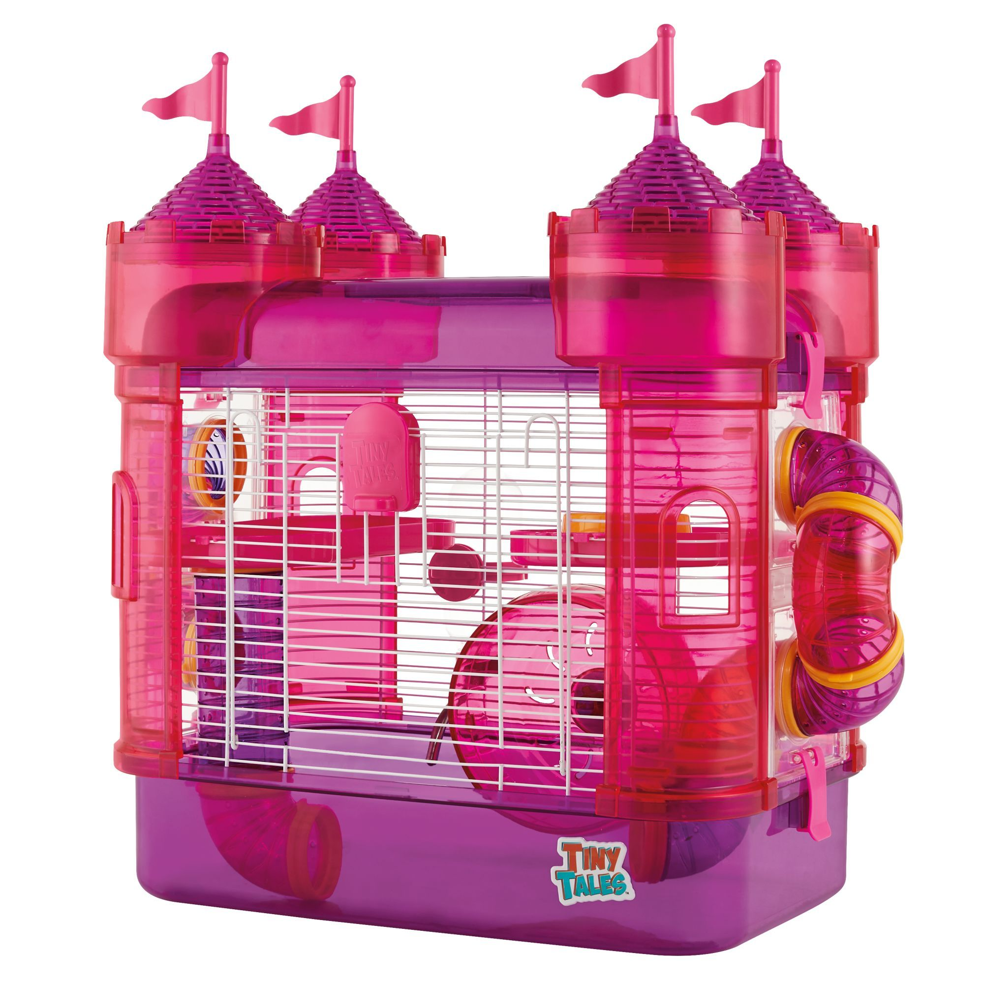 All Living Things Tiny Tales Castle Connectable Hamster Home
