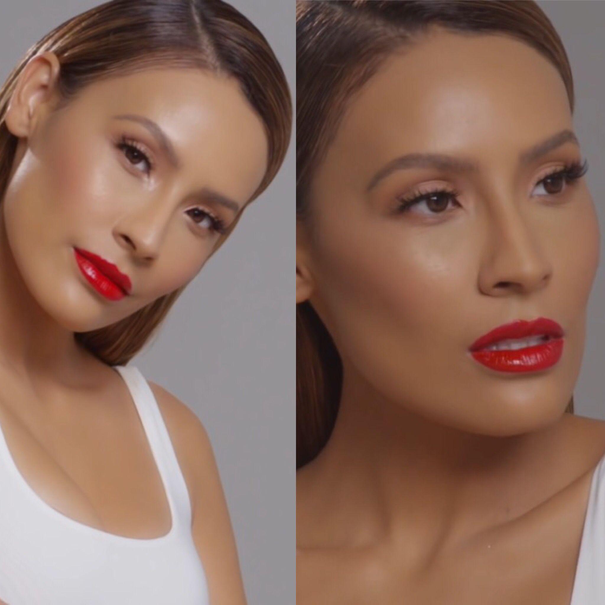 Makeup on Desi Perkins by Patrick Ta Patrick ta, Desi