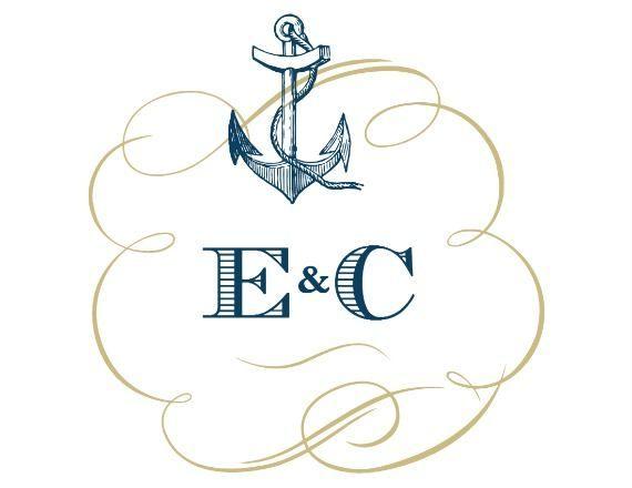 Nautical Free Printable Wedding Monogram Chiffon wedding dresses