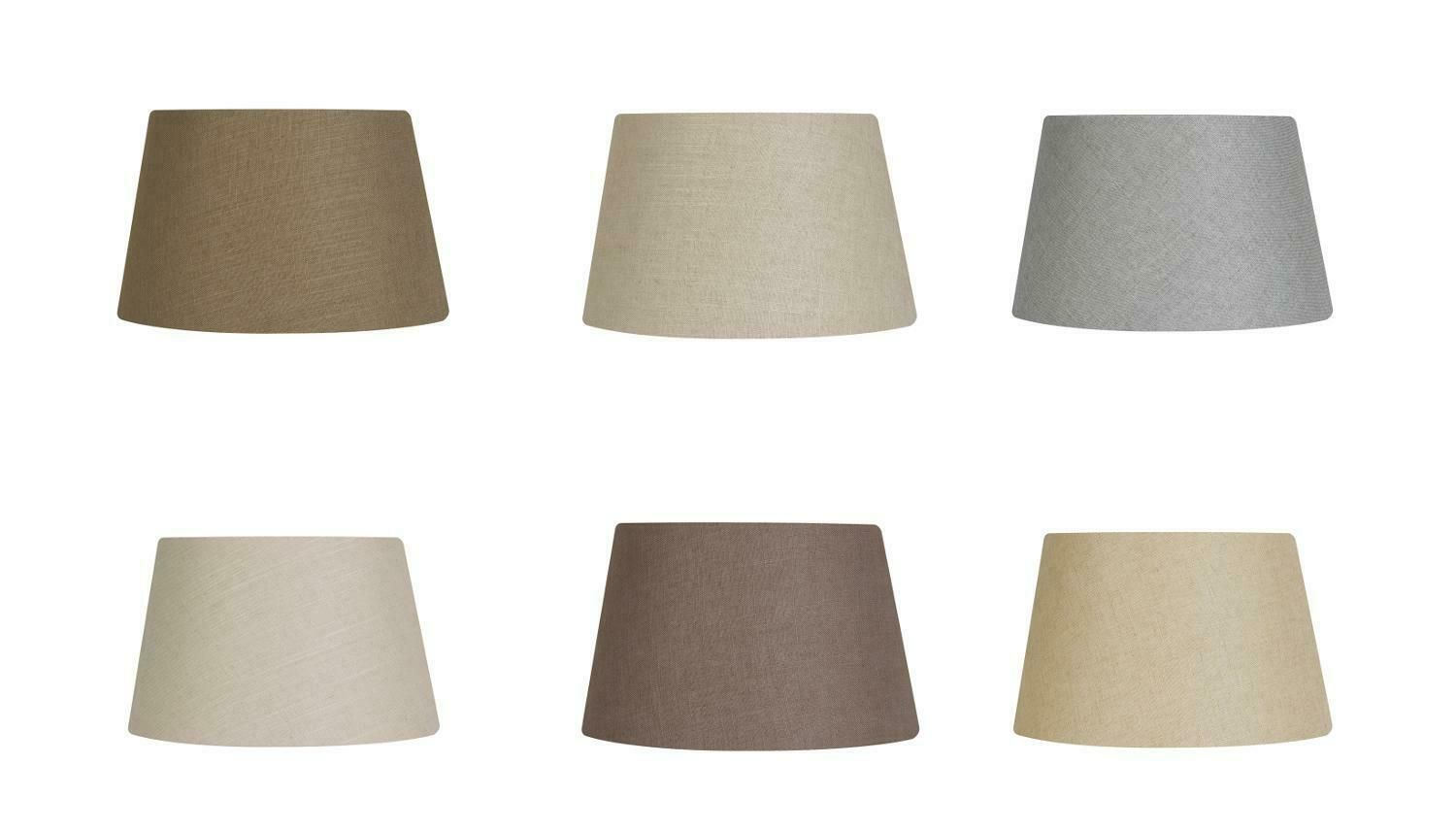 Details About Linen Texture Fabric Drum Lampshade Table Ceiling Light Shade 8 10 12 14 16 Inch Ceiling Light Shades Drum Lampshade Lamp Shades