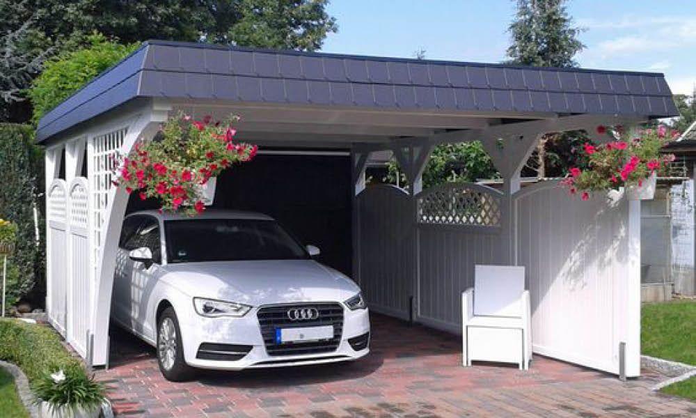 Voici 5 Idees De Carport Pour Une Alternative Facile Au Garage Carports Doppelcarport Plane Fur Scheunenhaus