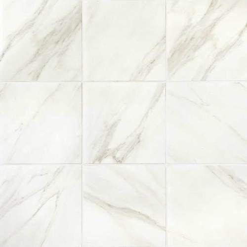 Mirasol Bianco Carrara Matte Floor Tile 12x12 Bianco Carrara Carrara Tile Floor